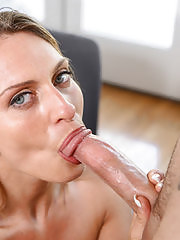 A hot mature woman with a perfect ass gets fucked by a throbbing cock