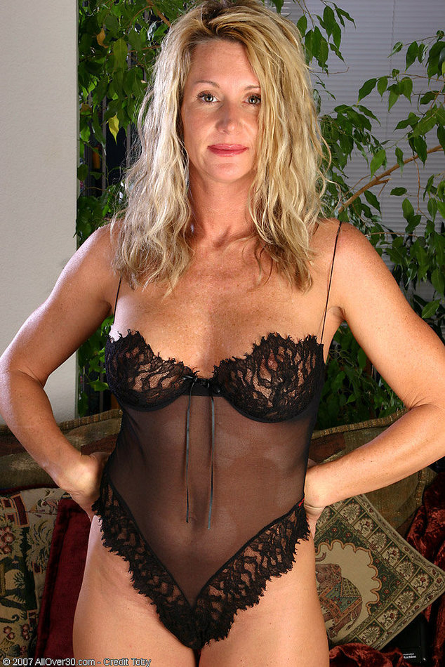 Mature Women In See Through Lingerie