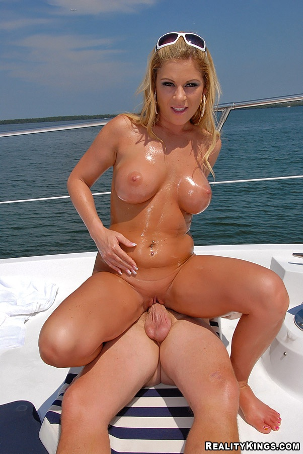 On wife boat mature nude busty