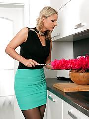 Beautiful Holly B doing sexy housework