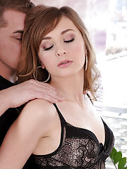 Beautiful Luca Bella seduces her man