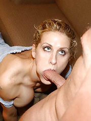 Blonde milf with perfect body ride cock like a true cowgirl