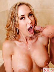Brandi Love fucking in the shower
