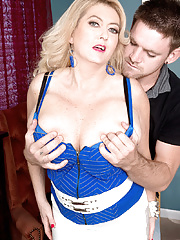 Busty Milf Rheina Shine gets her big boobs fucked