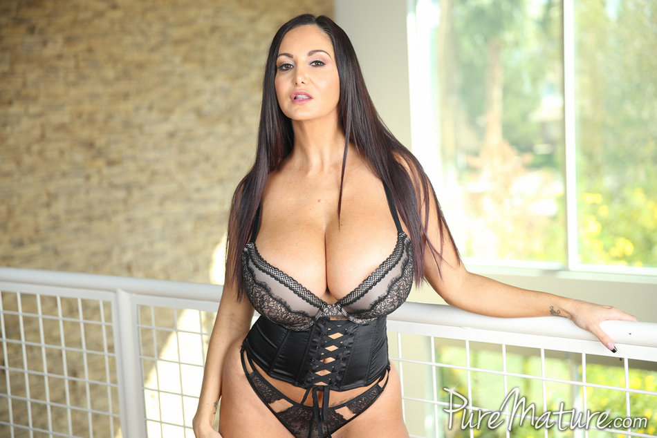 Ava Addams pure mature with two men with you