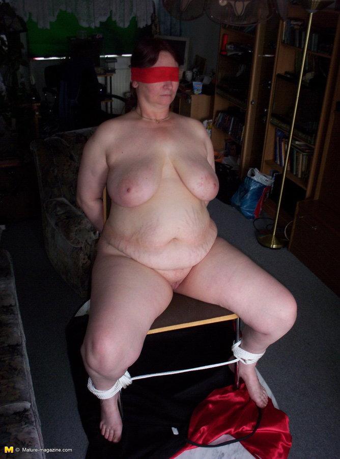 Milf white panties