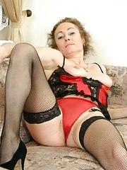 Cum on this slutty mature