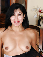 Estrella Jane spreading her delicious mature pink pussy for the camera