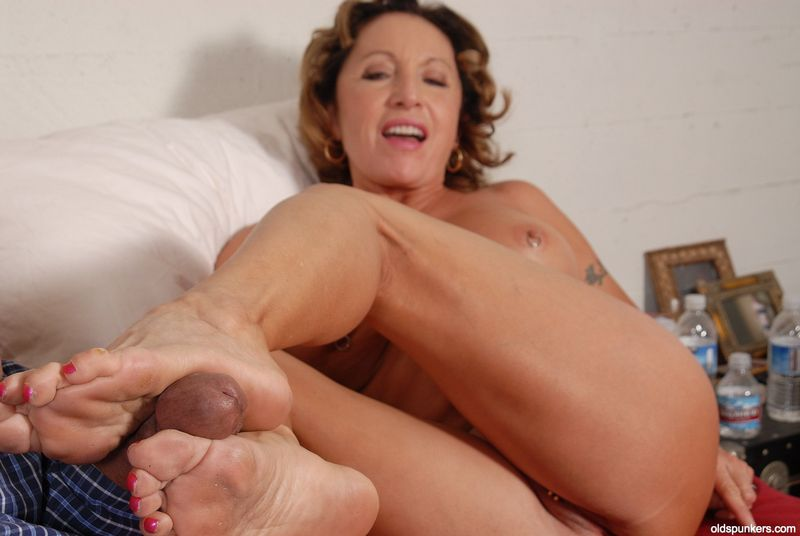 Foot Fetish Porn Mature