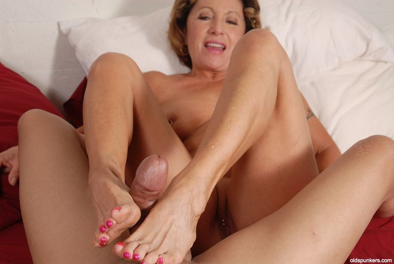 Grandmother Foot Fetish