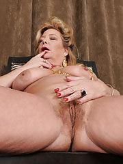 Golden girl of porn Karen Summer slips out of her white elegant dress