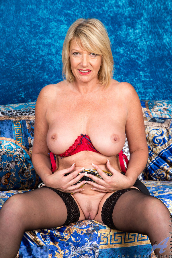 Perfect mature nude tits