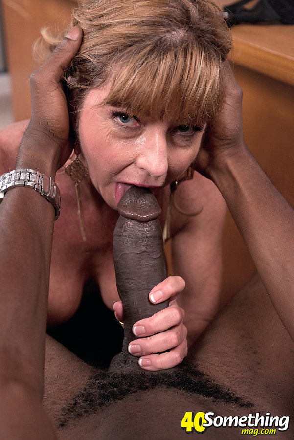 Ebony Loves Big White Cock