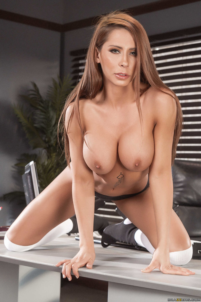 Brazzers Network] Hot sexy secretary Madison Ivy always ...