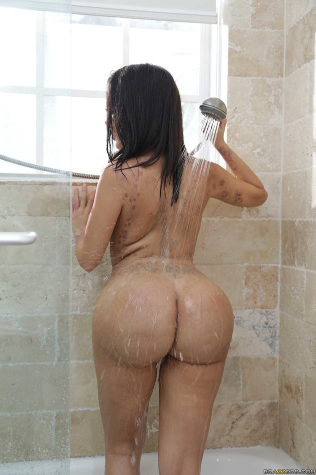 Big Ass Latina The Shower