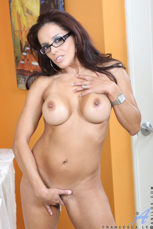 Anilos Latina Mature Milf Francesca Le With Sexy Glasses -9515