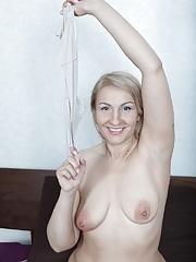 Luiza M masturbates with her vibrator