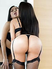 Massive butt latina Lela Star taking load of cum on face