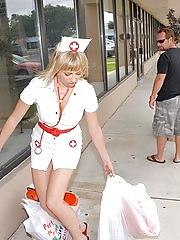 Mature Milf aprianna in naughty nurse
