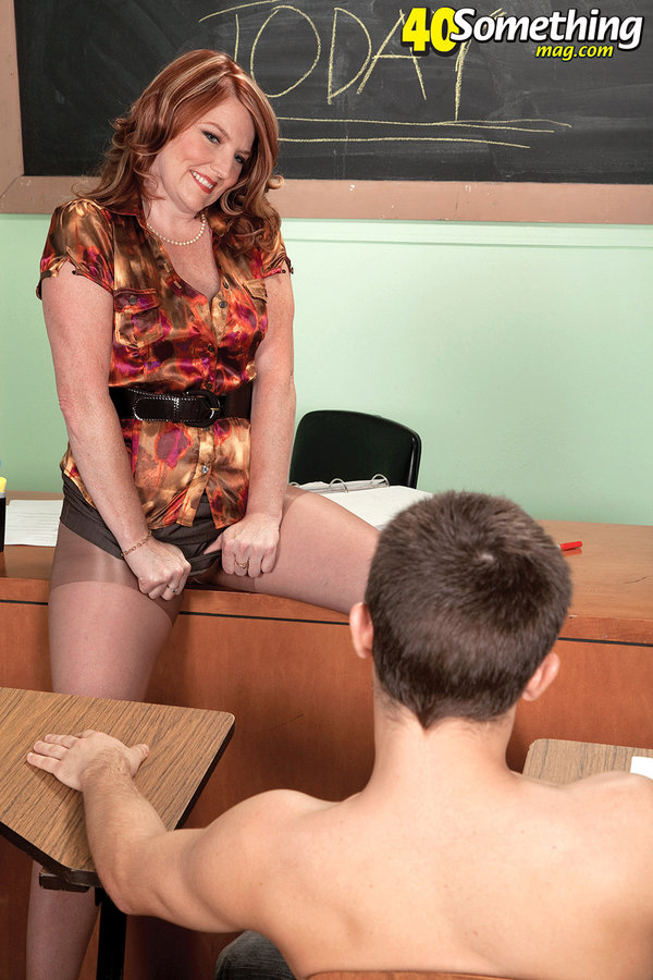 Mature teacher fucked