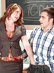 Mature teacher Stacie King getting fucked hardcore