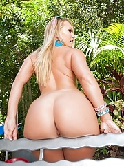 Milf AJ Applegate shows us her big butts