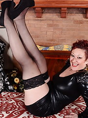 Naughty American housewife showing her dirty side