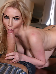 Nicely shaped pale Georgie Lyall pleases strong cock
