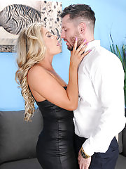 Nikki Capone sucks and fucks her lucky man
