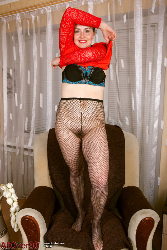 Older women stripping