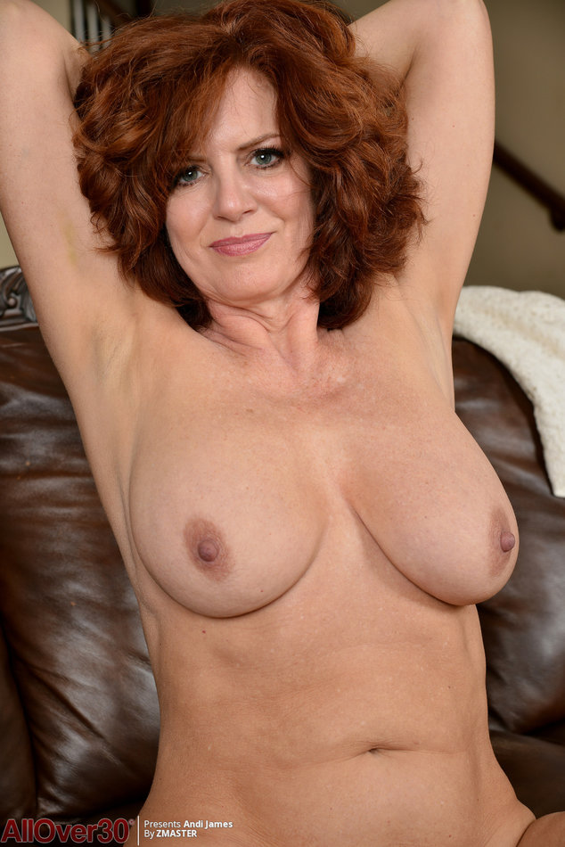 All Over 30 Older Woman Andi James Shows Us Her Hairy -7906