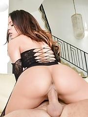 Pornstar Luna Star's big latin ass gets pounded hardcore