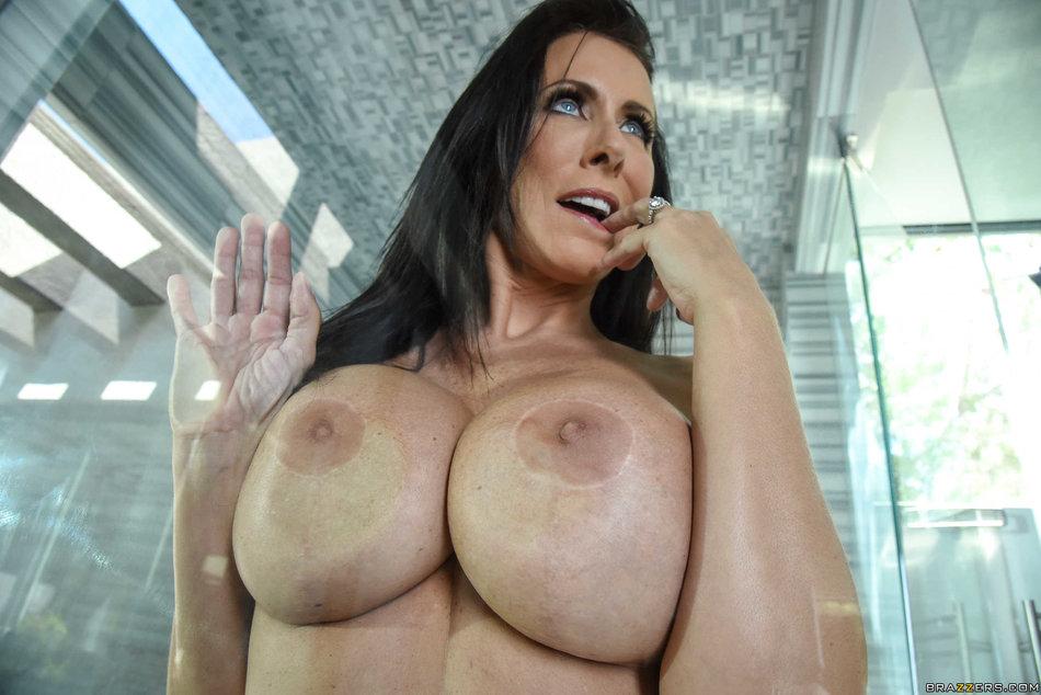... Sexy mature stepmom Reagan Foxx seduces her stepdaughters boyfriend ...