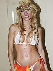 Super hot sexy big tits hot ass sheer bikini nailed hard hot cumfaced