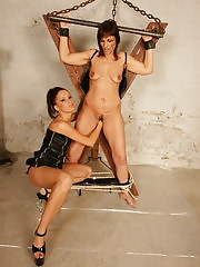 This mature slave gets fisted and whipped