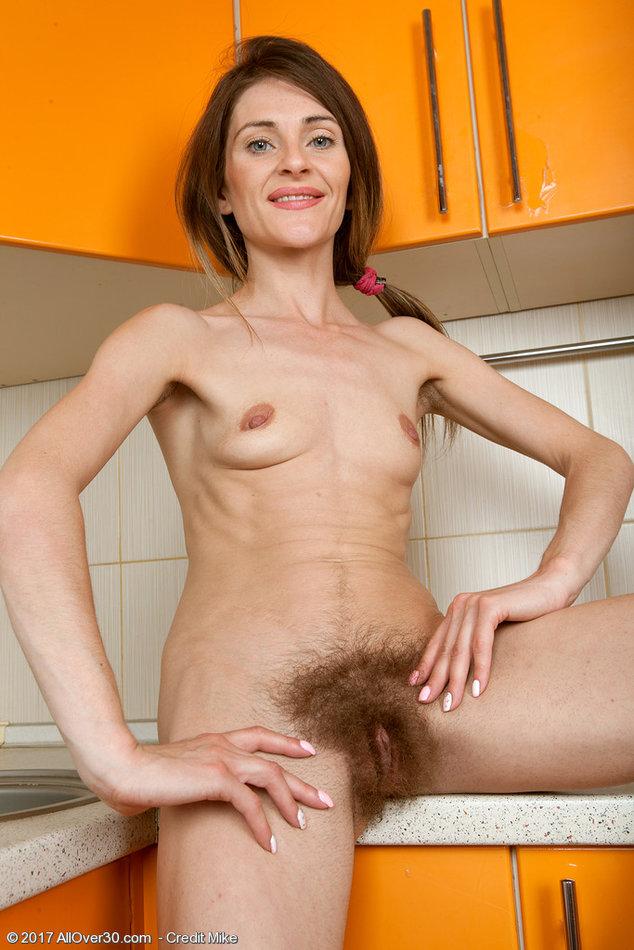 Skinny hairy holes #7