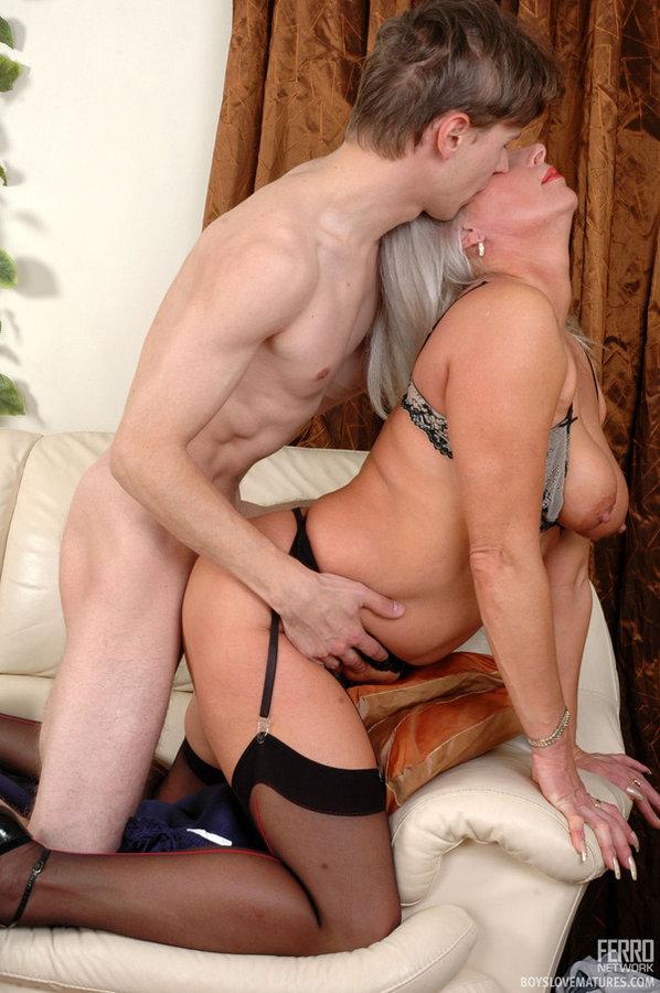 Mature Woman Vs Boy