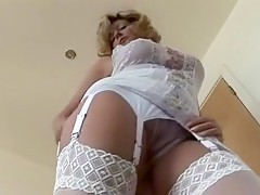 homemade amateur mature stocking sex videos