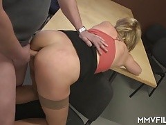 blonde russian party girl