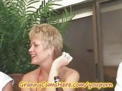 Swinger granny loves sex
