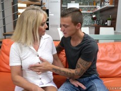 Blonde granny jane nelle dicks with young stud dom ully 6