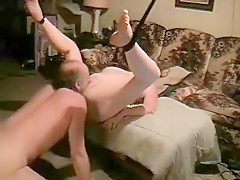 47yr cougar tied up and fucking - 2 6