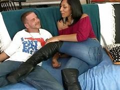 Milf blowjob boots words... super