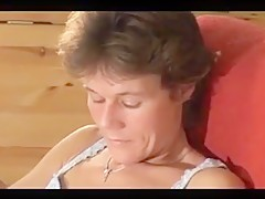 Danish sexy mature ass play 1