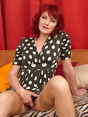 Mature sex redhead granny-3962