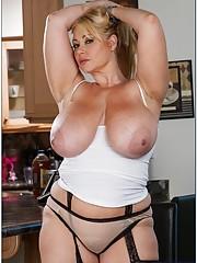 Ls huge mature tits hard nipples